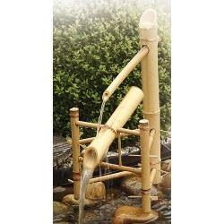 Bambu spökskrämma/vattenpost set