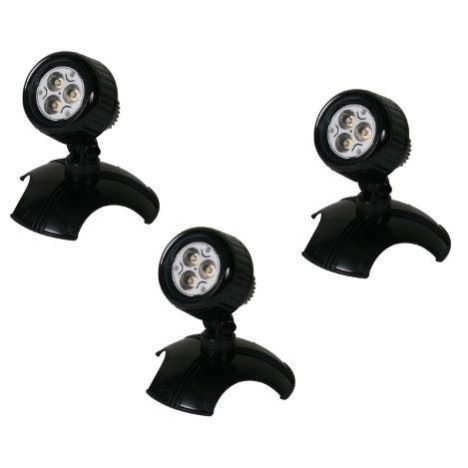 LED spottar, 3-pack