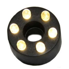LED ring 6 dioder plast