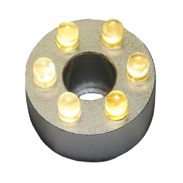 LED-ring, vita dioder