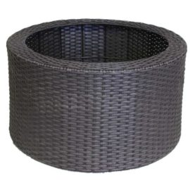 Wicker Rotting grå, 90 L