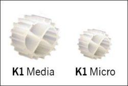 Skillnaden Kaldnes media och micro