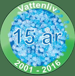 Vattenliv 15år 2001-2016