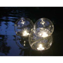Klotbelysning 20 cm 3-pack LED