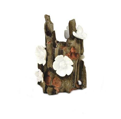 Blommande stubbe