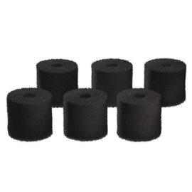 Filtersvamp till BioMaster, svart 60 ppi, 6-pack