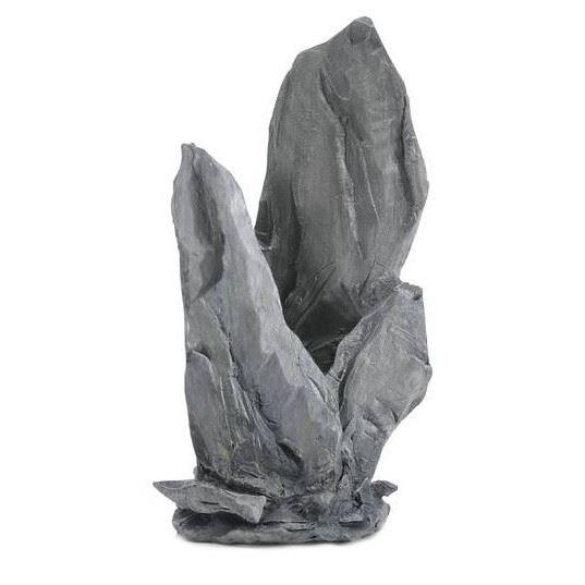 Skifferskulptur grå, M