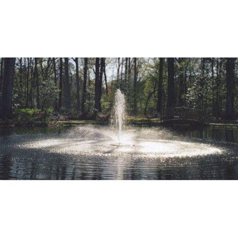 Kasco flytande fontän, vulkan munstycke