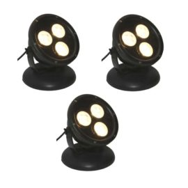 LED spot 12 W, tre pack