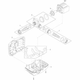 Slanganslutningar till AquaMax Eco Classic 3500-17500