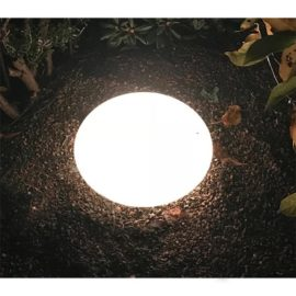 Ljusglob oval ∅ 43 cm