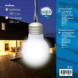 Glödlampa, hängande ∅ 20 cm