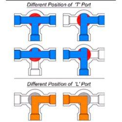 Skillnad mellan L och T port