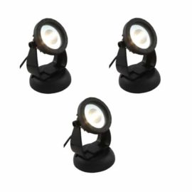 LED spot 6 W varmvita dioder 3-pack