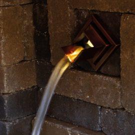LED belysning till Wall Spout